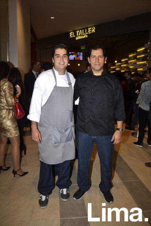 Juan Jose Durante y Álvaro Castillo