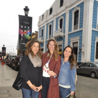 Kylla Piqueras, Tania Jelicic y Dafna Ivcher