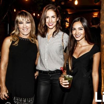 Leslie Passalacqua, Andrea  Hidalgo y Ximena Hidalgo