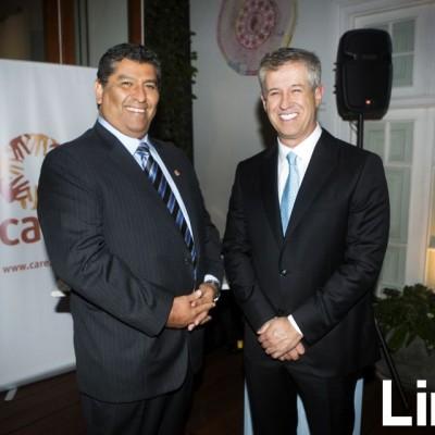 Nelson Gaviria y Jose Antonio Porth