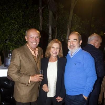 Rodolfo Valentino, Maye Haaker y Alfonso Estremadoyro