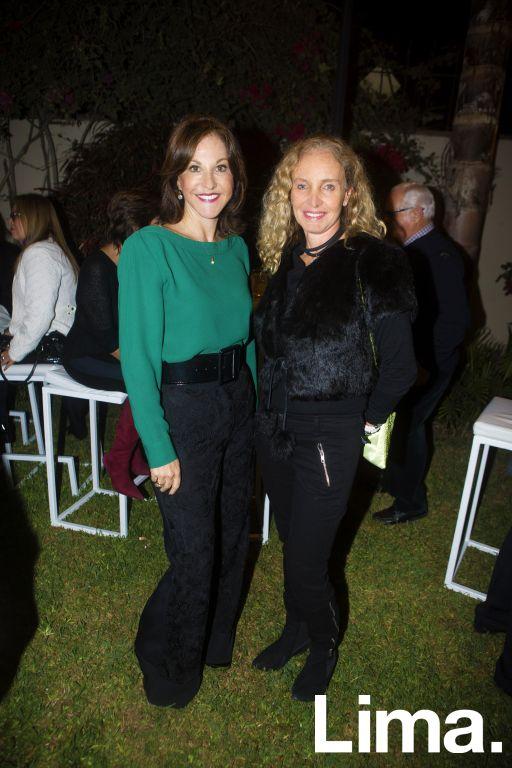 Mariana Garland y Janine Dibós