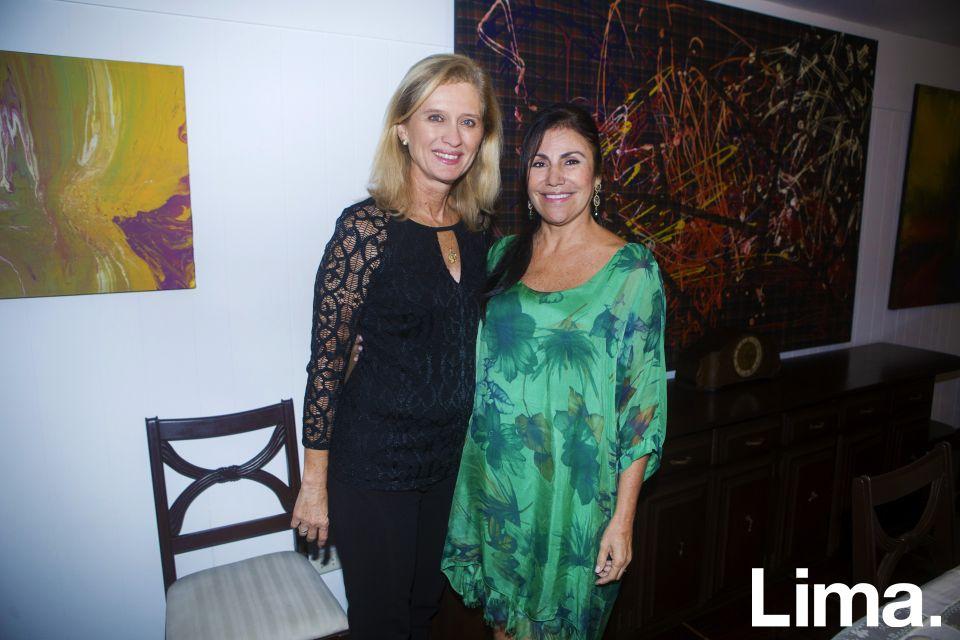 Ana María Clark y Mónica Castañeda