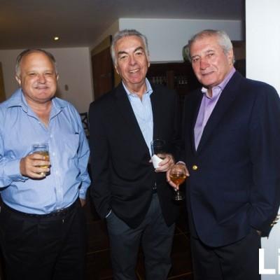 Jorge Picasso, Juan García y Juan Valle