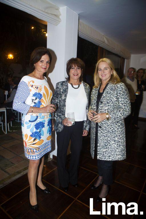 Cecilia Valdez, Cecilia Delgado y Lucha Tudela