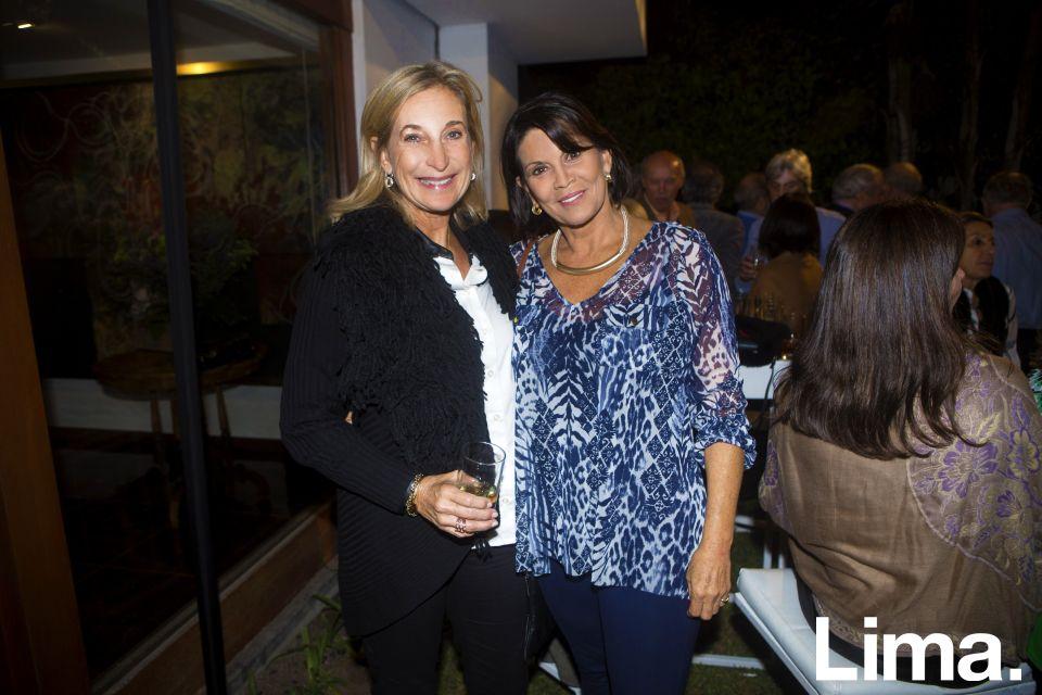 Cristina Carlsen y Patricia Celi