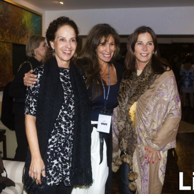 Giuliana Macchiavello, Gladys Andrich y Celia Barreda
