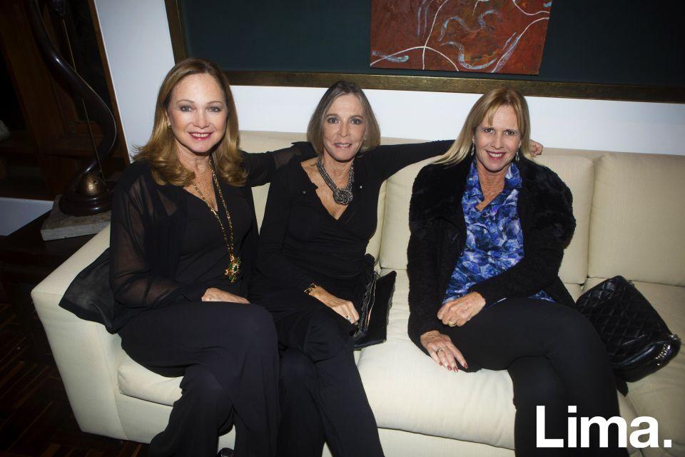 Astrid Frick, Mónica Fisher y Monalí Estremadoyro