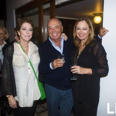 Rocío Villena, Eduardo Frei y Astrid Labarthe