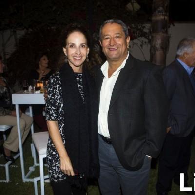 Giuliana Macchiavello y Fernando Muñoz