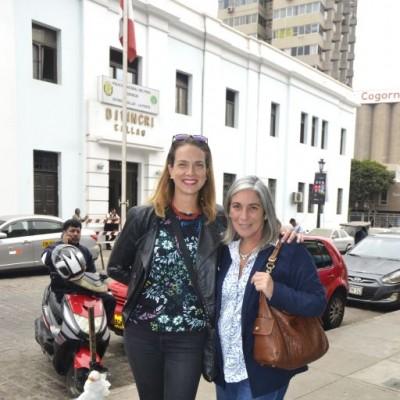 Michelle Prazak y Milagros Bentin