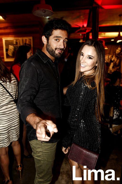 Pablo Heredia y  Alessandra Fuller