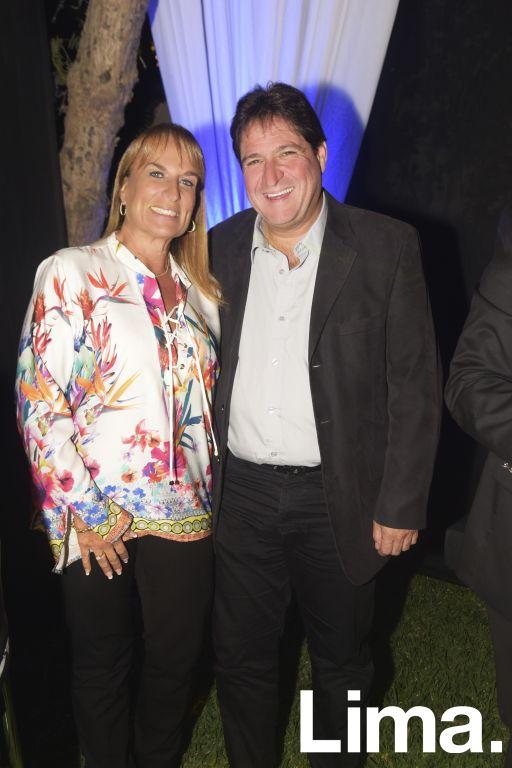 Yessica y Juan Carlos Zurek.