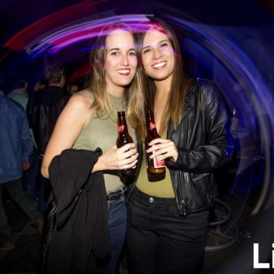 Adriana Quezada y Valeria Tejada en Red Bull Flugtag After Party