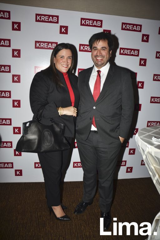 Aissa Paredes y Guido Lucioni