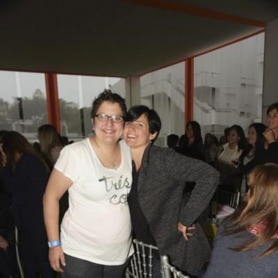 Ana Lia Saettone y Erika Stockholm.