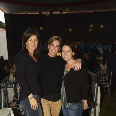 Anabel de las Casas, Patricia Bentin e Ivana de Bernardis.