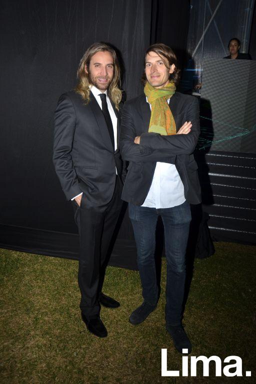 Christian Fuchs y Michael Fromm
