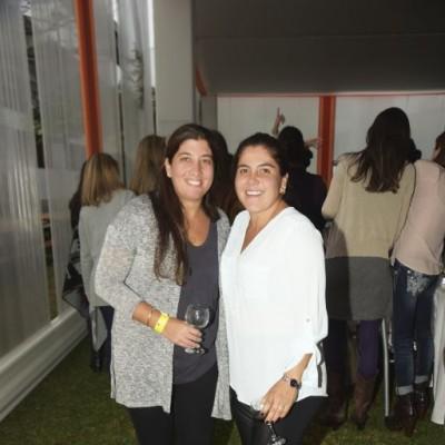 Claudia Saba y Carmen Loli.