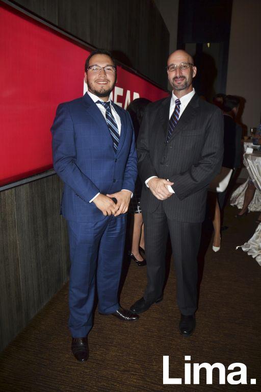 Daniel Palomino y Bruce Goldberg