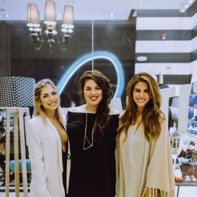 Daniela Sanguineti, PaolaFord y Stephanie Cayo  en inauguración de Lala Love, Jockey Plaza.