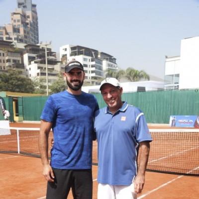 Diego Gonzales Orbegoso y Jaime Morante