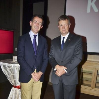 Eugenio Martínez y Mika Koskinen