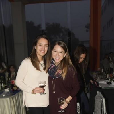Flavia Pennano y Andrea Eastes
