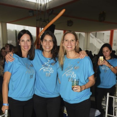 Francesca Cánepa, Mariana Pinillos y Caroline Koechlin.