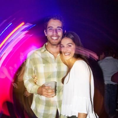Francisco Quezada y Eliana Montagle en Red Bull Flugtag After Party