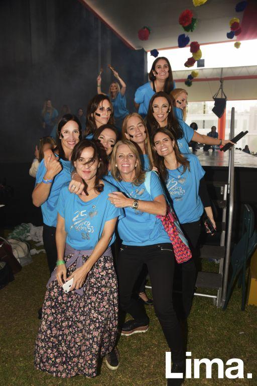 Giana Menchelli, Marci de la Borda, Francesca Cánepa, Issa Cox, Pía Zavala, Alejandra Thorne, Larisa Belmont y Lily Amiri.