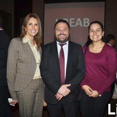 Gillian Paredes, Piero Calderón y Melissa Costa
