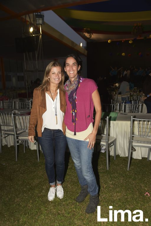 Jacqueline Fry y Lucía Carlessi.