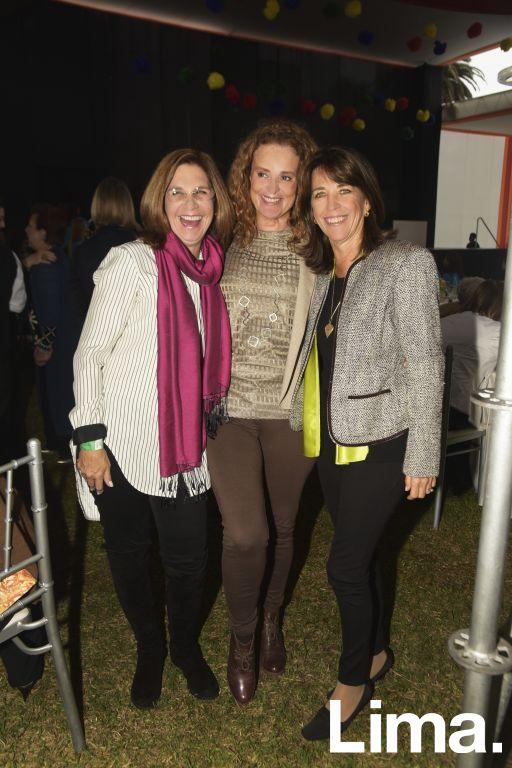 Jeanet Wolfenson, Jeanine Camet y Rocío Amat