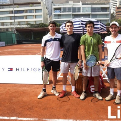 Joaquín Fort, Mateo Ruiz, Rodrigo Yoshikata y Guillermo Cabrera