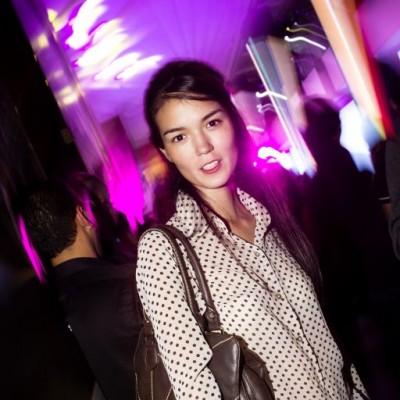 Kaori de La Flor en nuevo hall de Jockey Plaza.
