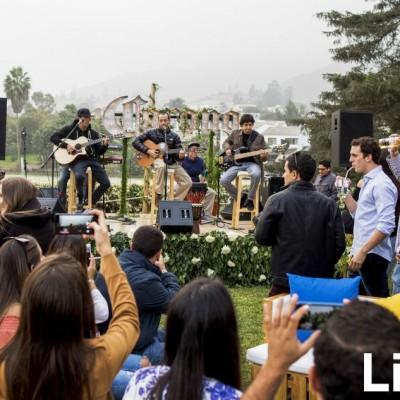 Laguna Pai en concierto.