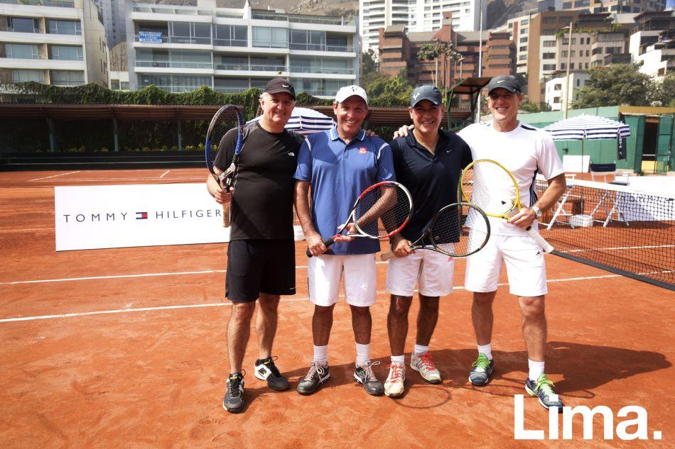 Luis de las Casas, Jaime Morante, Pepe Dávila y Federico Bauer