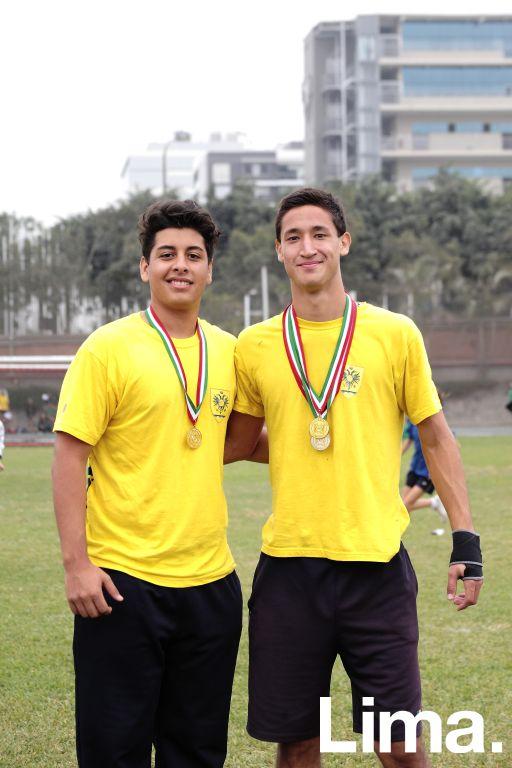 Antonio Liccardi  y Luis Felipe Loli.