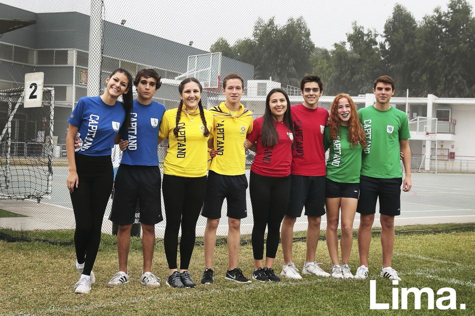 Alía Gonzales, Fabrizio Cuneo,  Paloma Domenack, Sebastián Sipán,  Valeria Ghersi, Fabrizio Medina,  Daniela Moya y Renzo Inglesi.