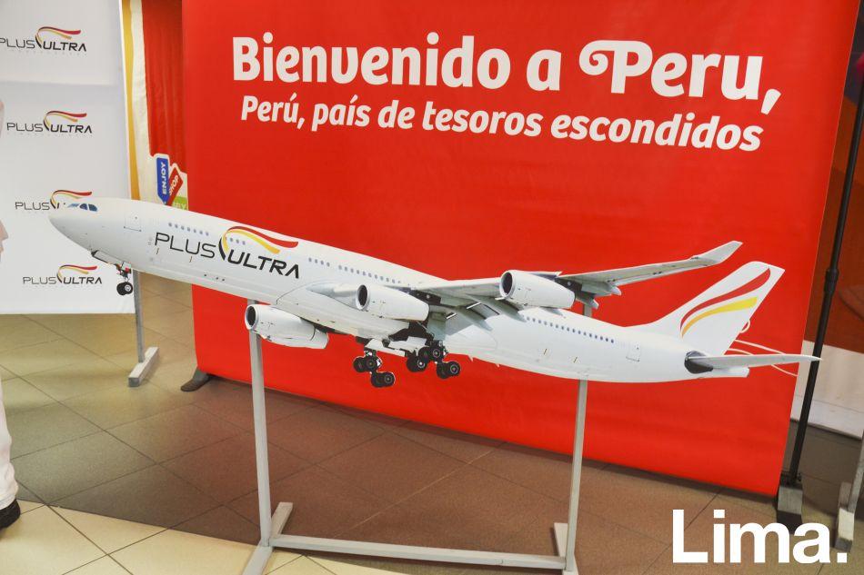 Nueva aerolínea Plus Ultra