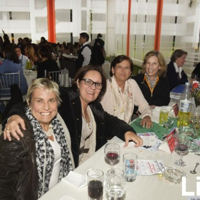 Patricia Soto, Andrea Cannock e Ileana Corno.