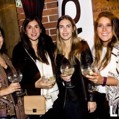 Rafaela Moreno, Alessandra Goachet, Antonella Brazzini y Malena Barreda  en Bazar, Miraflores.