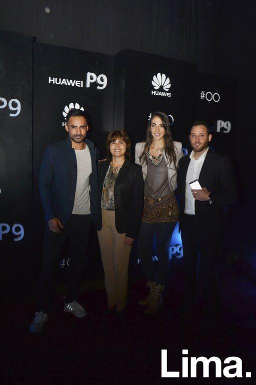 Rafo Iparraguirre, Marisol Acosta, Chiara Pinasco y Miguel Angel Gómez
