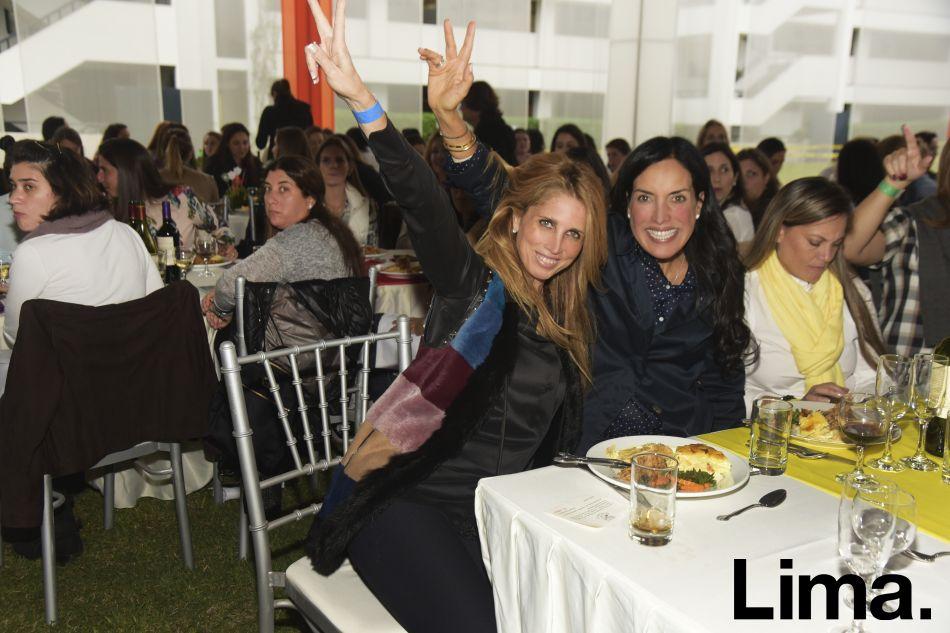 Sandra Camino y Heidi Harman.