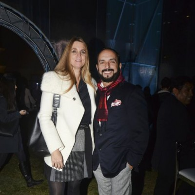 Sonia Cunliffe y Efraín Salas