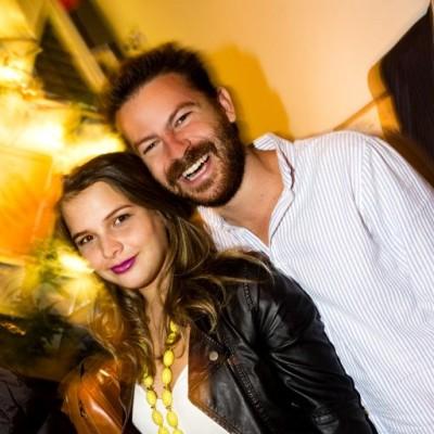 Talia Cheneffusse y Emilio Amico  en Bazar, Miraflores.