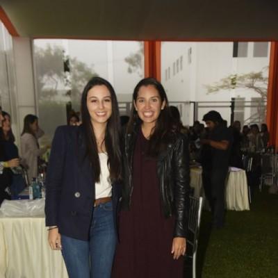 Vanesa Álvarez y Fátima Rohde.