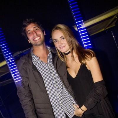 Yazan Tubbeh y Alessia Gulman en Red Bull Flugtag After Party