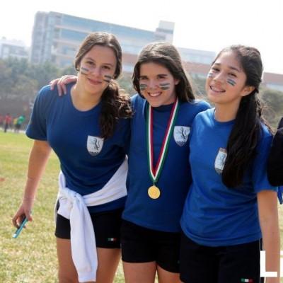 Arianna Porcella, Micaela  Cuneo y Sofía Carrasco.